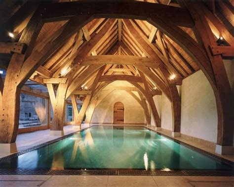 A Frame Houses A Stunning Cruck Frame Houses This Swimming Pool Perhaps