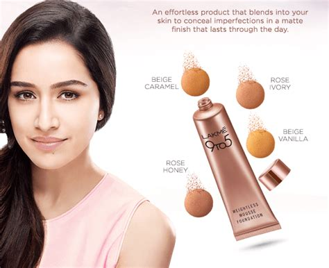 lakme 9 to 5 weightless mousse foundation review lakme 9 to 5 weightless mousse foundation shades price