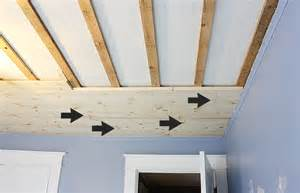 Shiplap Ceiling by Diy Shiplap Bedroom Ceiling Robb Restyle