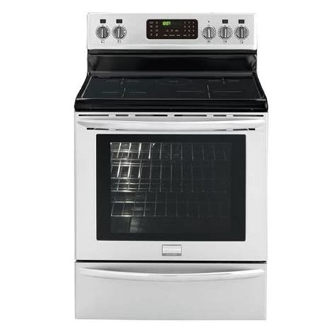 induction or electric range frigidaire fgif3061nf gallery 30 quot freestanding electric induction range in white