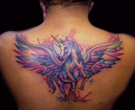 new school unicorn tattoo merkaba tattoo tattoos new school unicorn tattoo