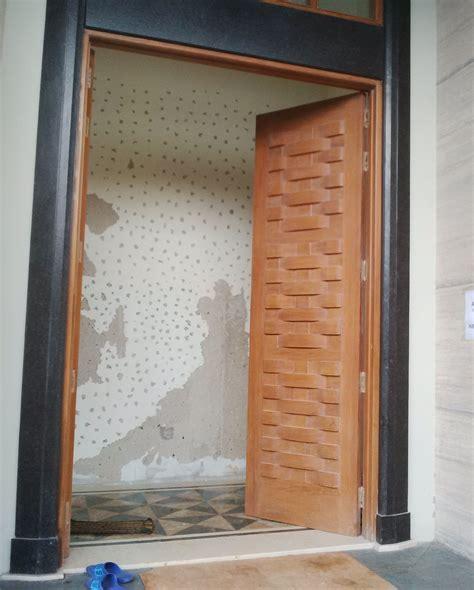 Daun Pintu Multiplek Lapis Hpl pintu solid motif anyaman pk dwi karya mandiri