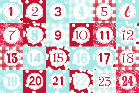 free printable advent calendar template advent calendar templates