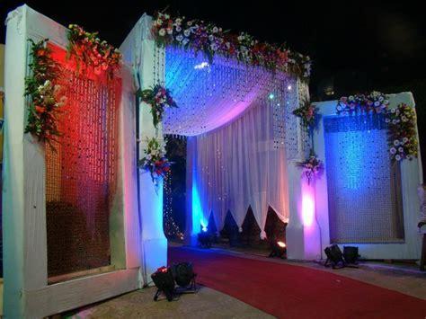 unique wedding reception decoration ideas wedding light