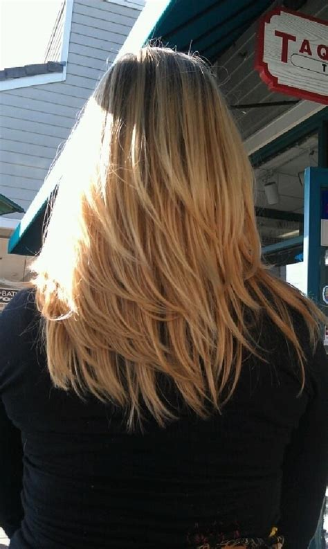 images of blonde layered haircuts from the back 25 fantastic easy medium haircuts 2018 shoulder length