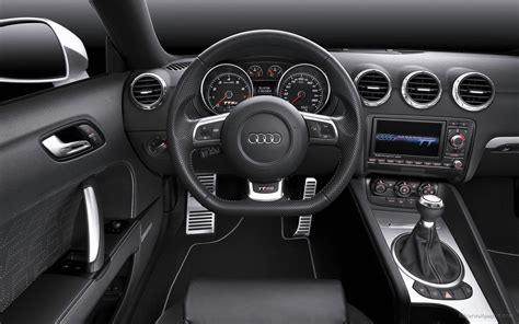 Audi Tt Rs Interior by 2010 Audi Tt Rs Coupe Interior Wallpaper Hd Car Wallpapers