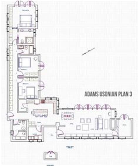 modern usonian house plans modernized usonian house plans pinterest