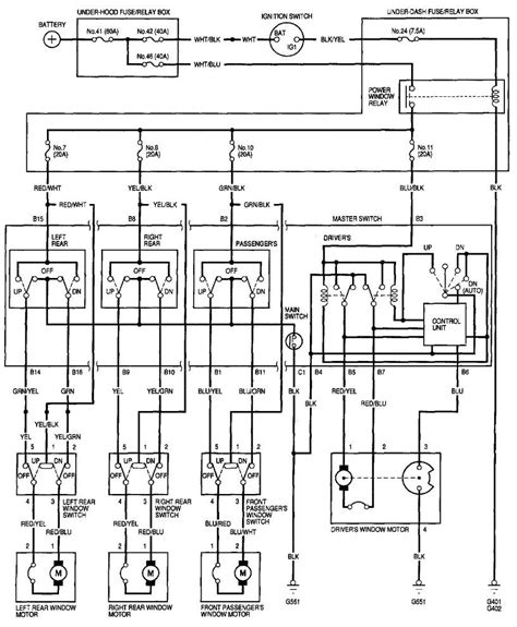 wiring diagram 1996 honda civic si power windows not working honda civic forum