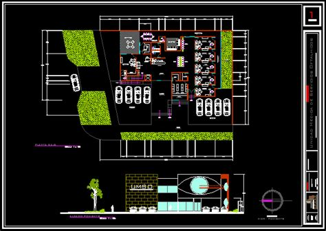 ophthalmology clinic  dwg plan  autocad designs cad