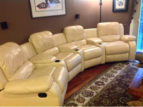 couch cinema theater style reclining sofa hereo sofa