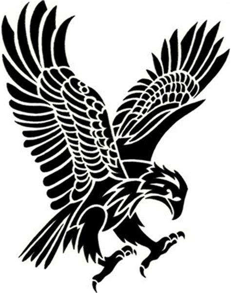 eagle tribal tattoo designs big tribal eagle tattoo on