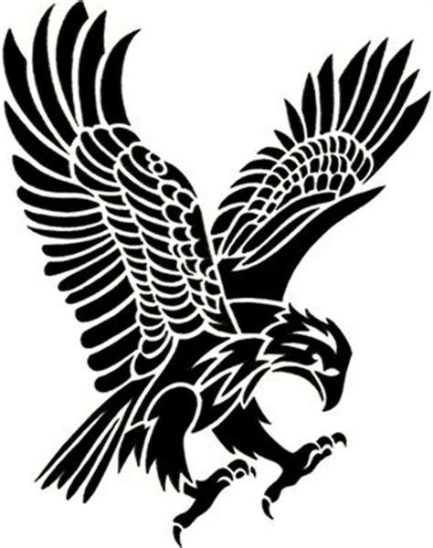 eagle tribal tattoo designs big tribal eagle tattoo on