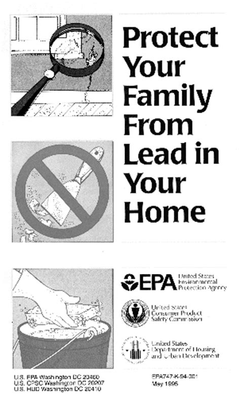 protect you family from lead in your home