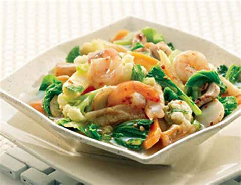 membuat capcay ala chinese food  praktis