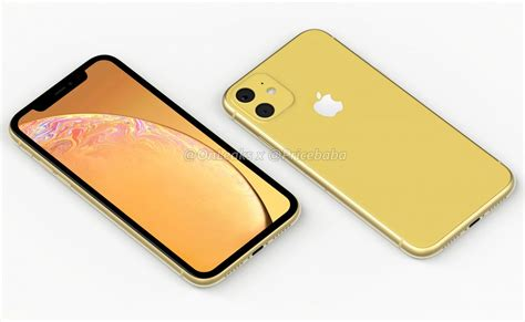 apple iphone xr 2019 renders reveal dual on the back phoneworld