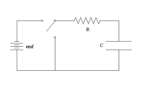 a resistor and a capacitor are connected in series to an ideal battery of constant terminal voltage 4 circuits resistors and capacitors solarwiki