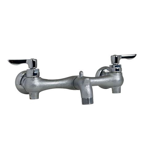 wall mount utility faucet american standard exposed yoke wall mount 2 handle utility