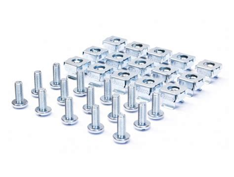 Rack Mount Nuts And Bolts by Server Rack Mounting And Cage Nut Combo Pack 10 32