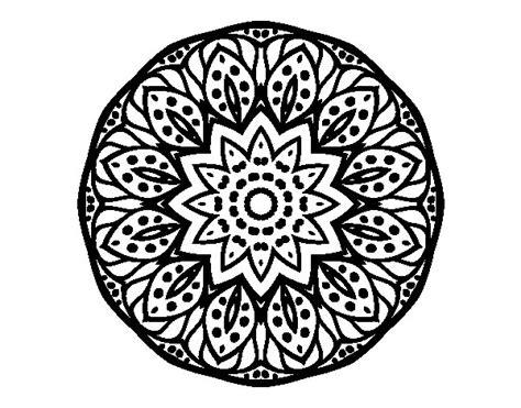 imagenes de mandalas de la naturaleza dibujo de mandala naturaleza para colorear dibujos net