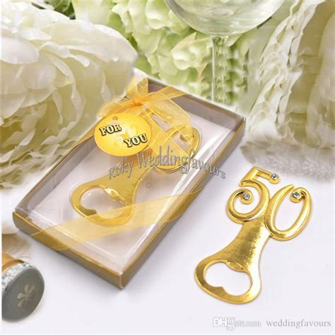 50th Bottle Opener Anniversary Favors 50th Wedding Party
