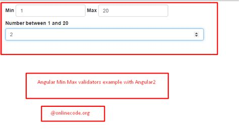 angularjs pattern validation not working angular min max validators archives onlinecode