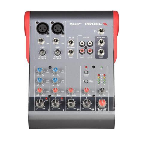 Mixer Proel Mi 10 Original mi6