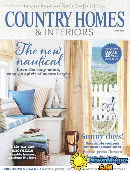 country home design magazines country homes interiors july 2015 187 download pdf