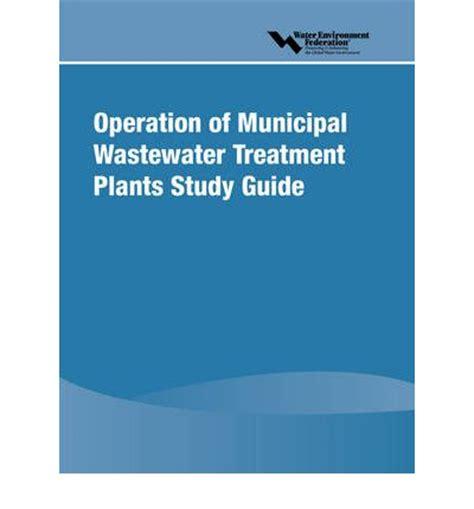 rehab a study books operation of municipal wastewater treatment plants study