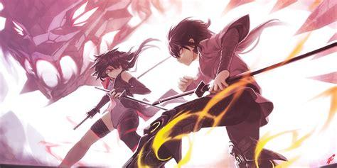 anime battle download 1800x900 anime battle katana fighting dragon