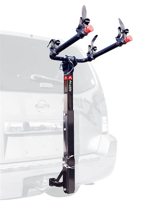 allen sports deluxe 2 bike hitch mount rack with 1 2 inch