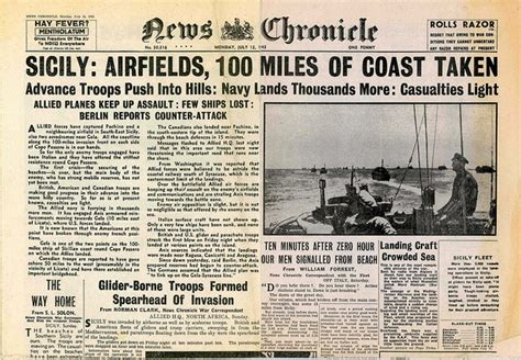 best italian newspaper 113 best images about wwii newspaper headlines on