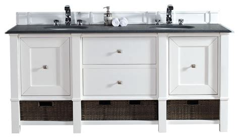 double console sink cottage bathroom vicente burin madison 72 quot double vanity cabinet cottage white