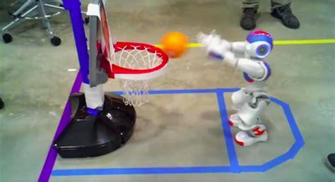robot basketball    exciting   ncaa