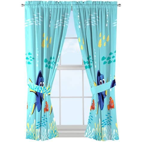 ebay curtains for sale disney finding dory drapes set of 2 ebay