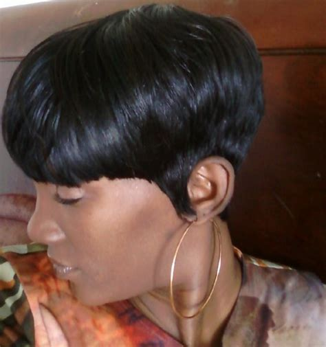 tappered pixie hairstyles for black women short tapered womens back view of tapered haircut short