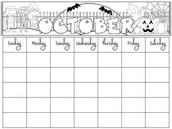 blank monthly school calendars free blank monthly calendars editable