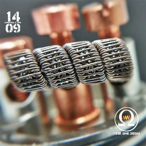 8builds 6 Fused Clapton 401 best images about cool looking coils on smok vape and aliens