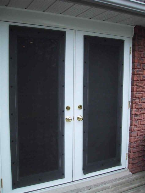 Exterior French Doors With Screens Kapan Date Exterior Doors With Screens And Windows