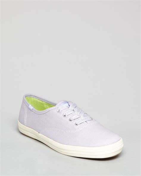 keds sneakers keds sneakers chion canvas in lavender lyst