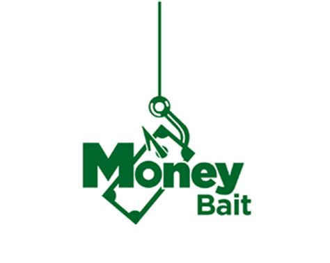 design logo and earn money money bait designed by revotype brandcrowd