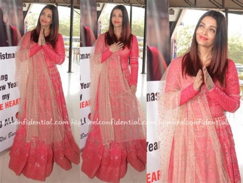 aishwarya rai christmas seeing red high heel confidential
