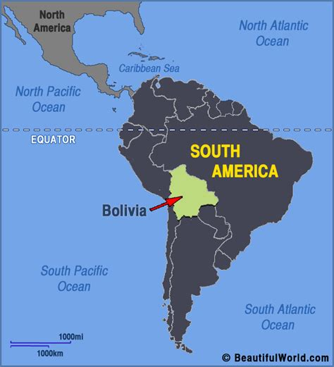 bolivia on the world map map of bolivia facts information beautiful world