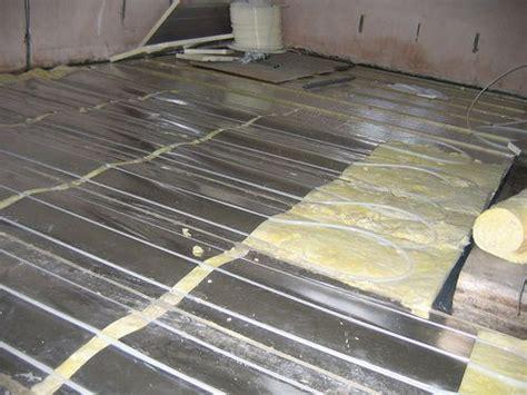 floor heating hardwood fitting wood flooring above underfloor heating ufh