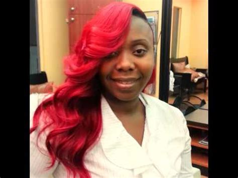 k michelle red weave k michelle red hair inspired this look youtube