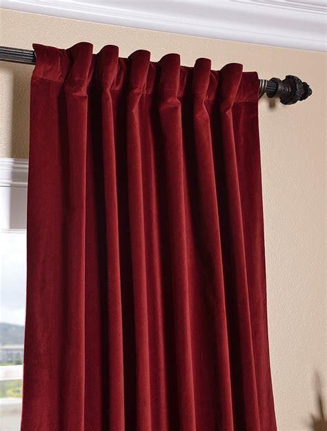 red velvet curtains claret red vintage cotton velvet curtain gothic room