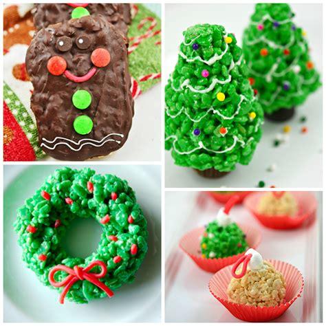 fun christmas rice krispie treats to make crafty morning