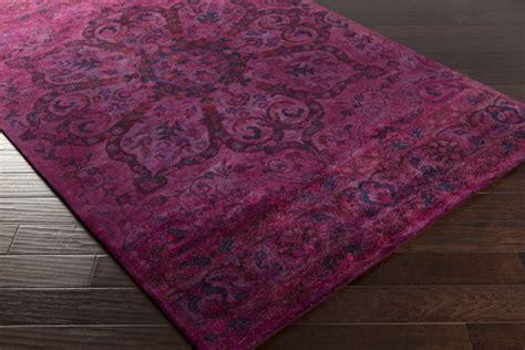 magenta area rug surya mykonos myk 5010 violet plum magenta area rug