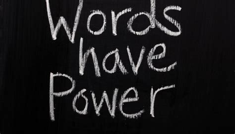 Words Palabras the power of words