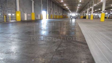 Warehouse Floor by Concrete Floors Sweating Slab Titus