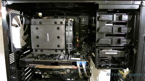 Cooler Cpu Fan Bequet Rock Pro3 Dual Fan be rock pro 3 overview installation and